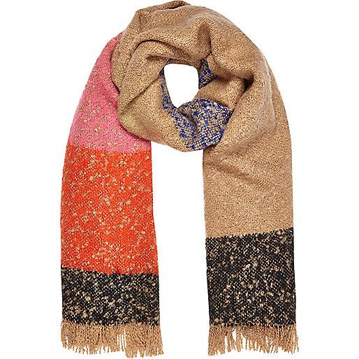 Pinker, superweicher Schal