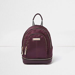 Light purple mini backpack