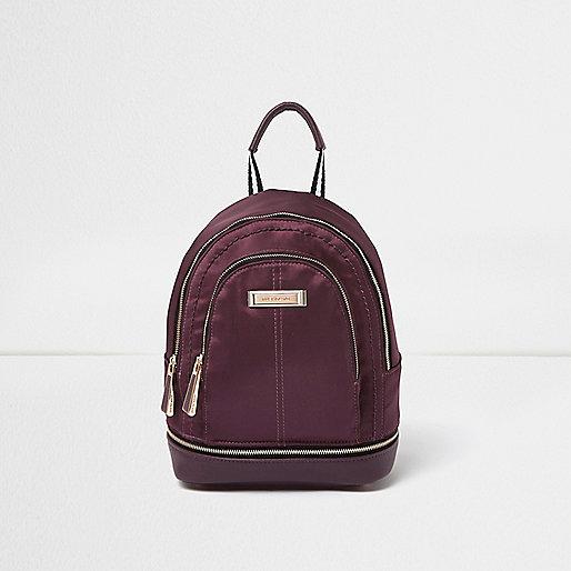 Light purple mini backpack