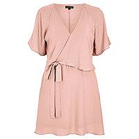 Light pink frilly dress
