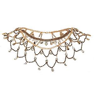 Goldene Halskette