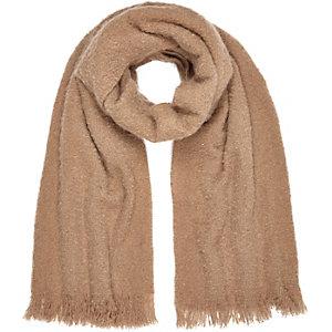 Light brown super soft scarf