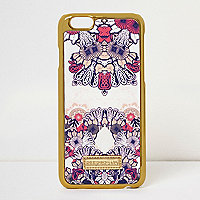Pink print iPhone 6 case