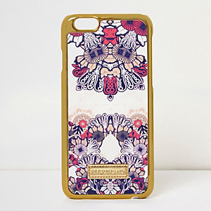 Pink print iPhone 6 case