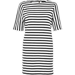 White stripe tunic