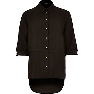 Black relaxed fit shirt