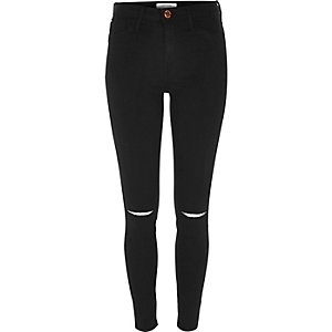 Molly – Schwarze Jeggings