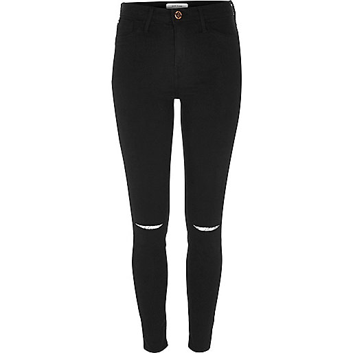 Black Molly jeggings