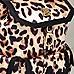 Sac à dos imprimé léopard crème