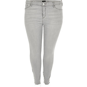 RI Plus grey wash Molly jeggings