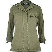 Khaki festival jacket