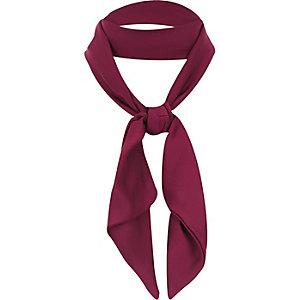 Red neck tie scarf