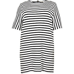 RI Plus white stripe tunic