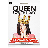 Couronne gonflable « Queen for the day » NPW