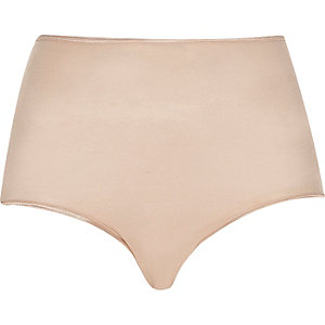 Pink Smooothees control high rise briefs