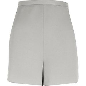 Grey high waisted shorts