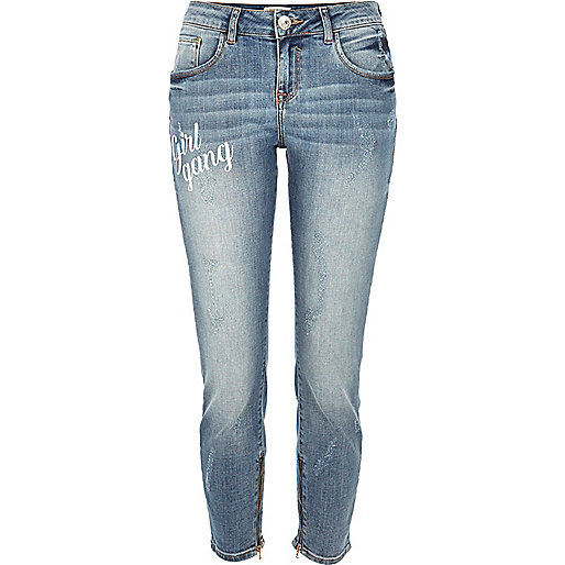 Alannah – Legere Skinny Jeans in blauer Waschung