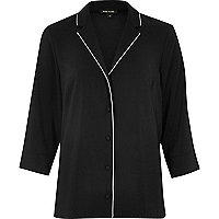 Black lightweight shirt