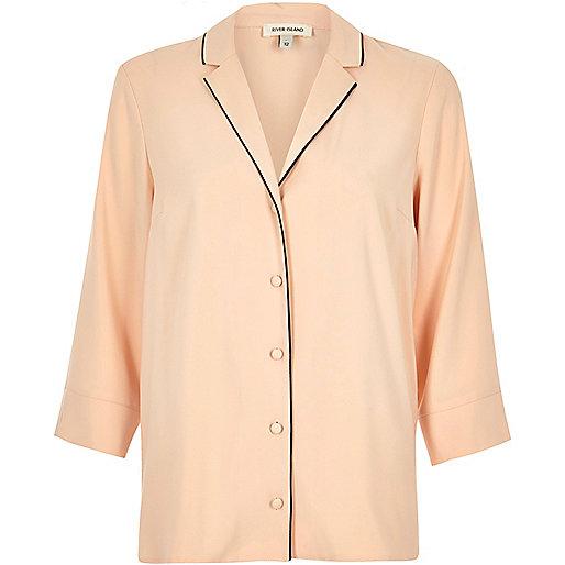 Pink pyjama shirt