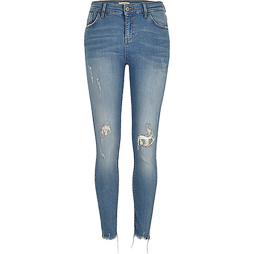 Amelie – Superskinny Jeans in mittlerer Waschung