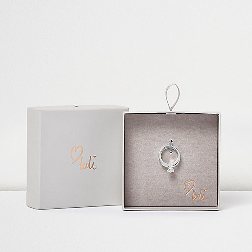 Love Luli – Versilberter Ring