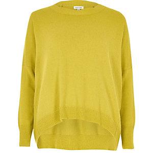 Pullover mit Stufensaum