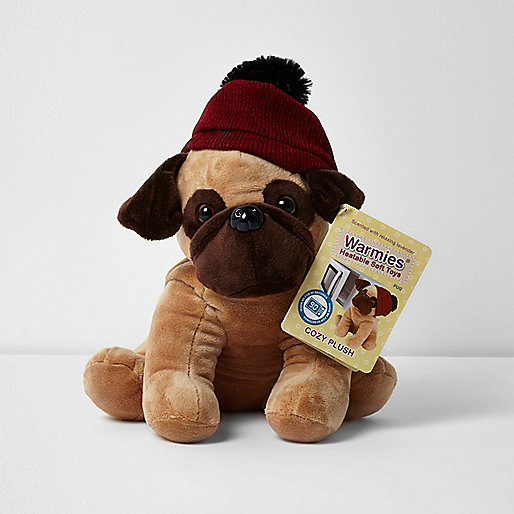 Warmies heatable pug soft toy