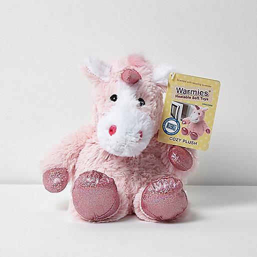 Warmies heatable unicorn soft toy
