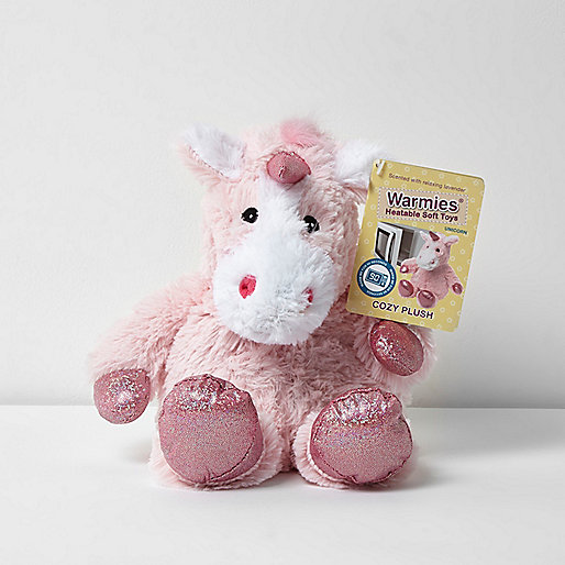 Warmies heatable unicorn soft toy