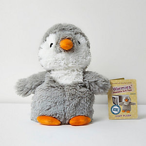 Warmies heatable penguin soft toy