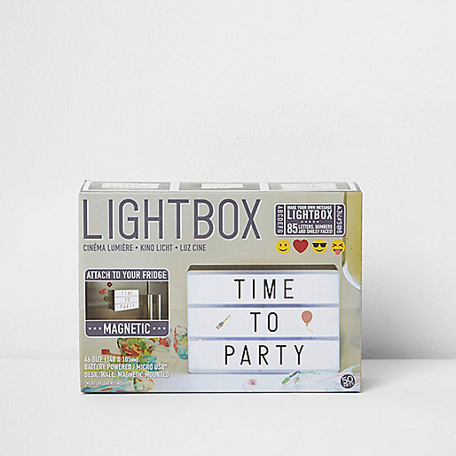 A6 magnetic light box