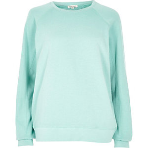Green long sleeve sweatshirt
