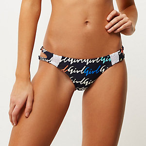 Blue print RI Resort bikini bottoms