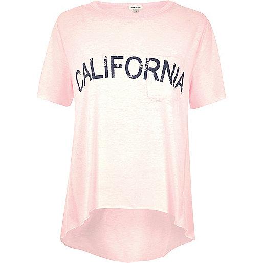 T-shirt California rose