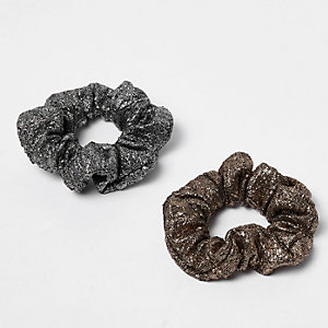 Metallic scrunchie pack