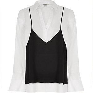 White cami shirt