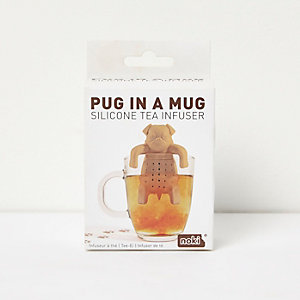Pug in a ug tea infuser
