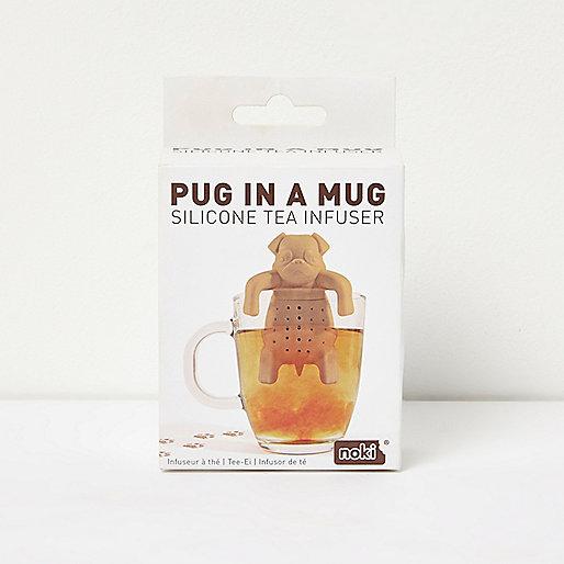 Pug in a ug tea infuser