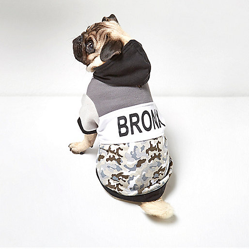 Sweat RI Dog camouflage kaki Bronx