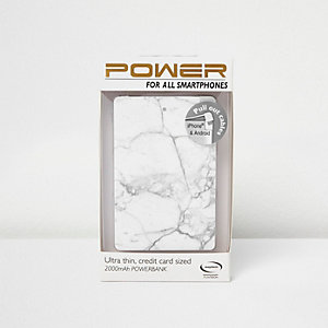 Marble smartphone power bank