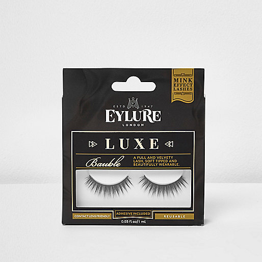 Black Eylure bauble luxe false eyelashes