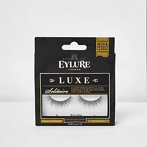 Black Eylure solitaire luxe false eyelashes
