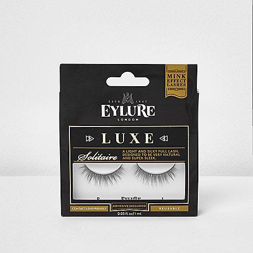 Black Eylure solitaire luxe false eyelashes