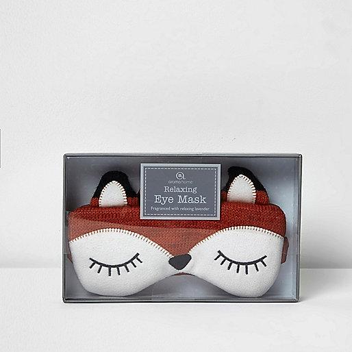Brown fox fragrant eye mask