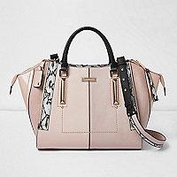 Rosafarbene Tote Bag