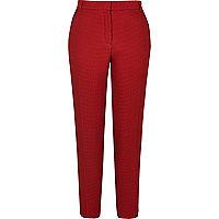 Rote Slim Fit Webhose