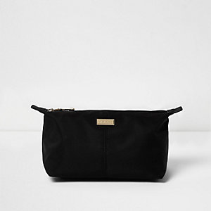 Black make up bag