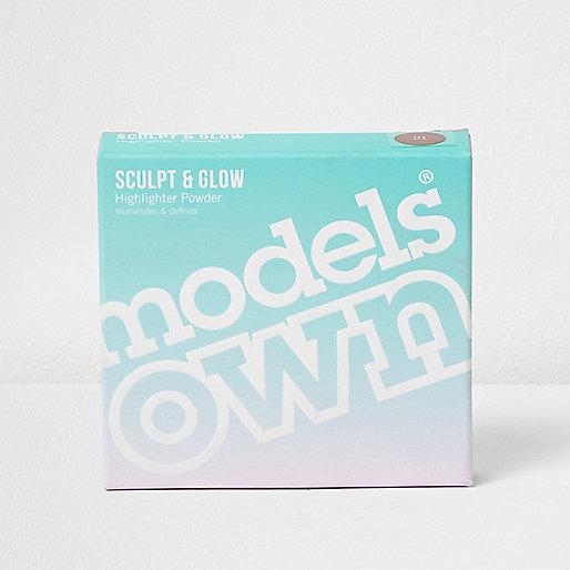 Models Own golden sand highlighter powder