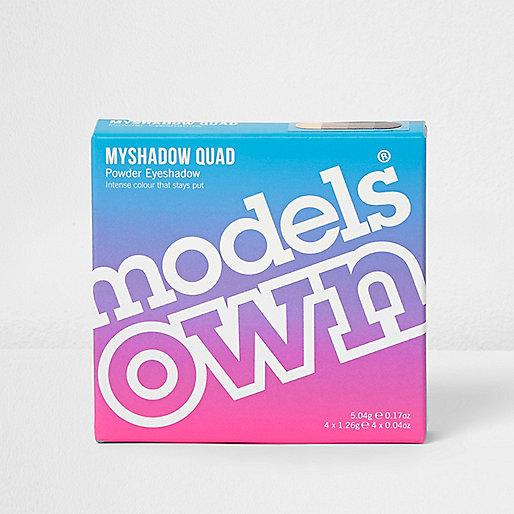 Models Own brown quad eyesahdow palette
