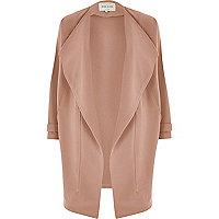 Dark pink fallaway jacket